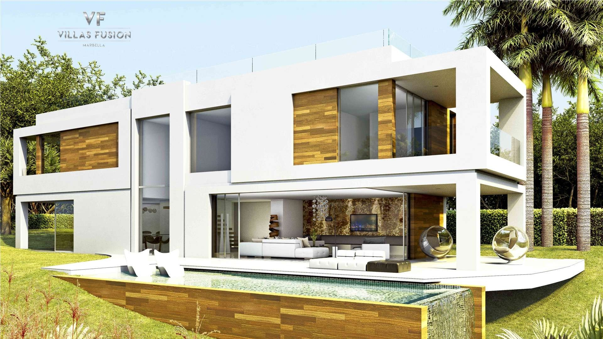 Villa In Hi Tech Style On The New Golden Mile