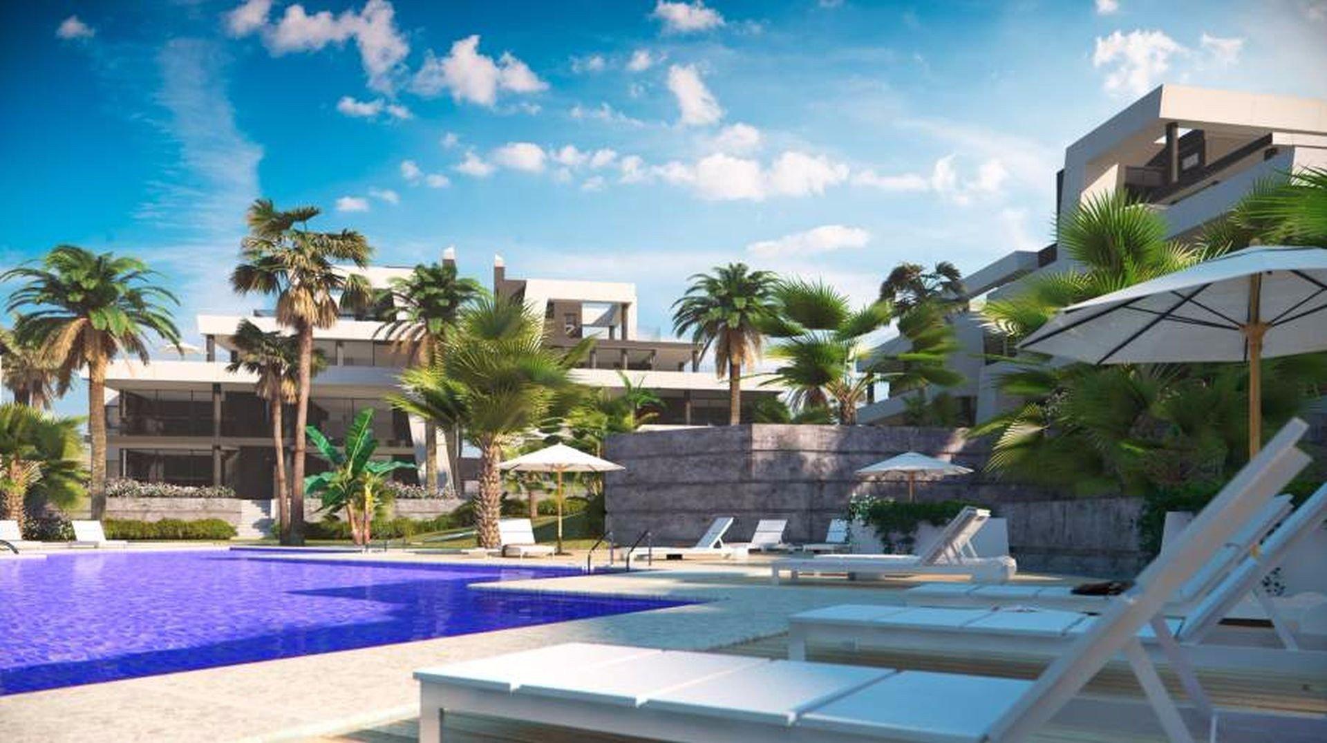luxury apartment complex. New Luxury Apartment Complex  Marbella East