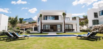 The modern villa in Los Olivos