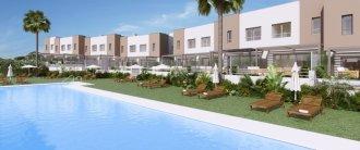 Новый комплекс таунхаусов в Эстепоне