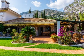 Country estate on the hills of Mijas