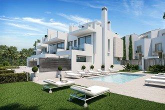 Новый-комплекс-таунхаусов-в-Эстепоне,-Испания